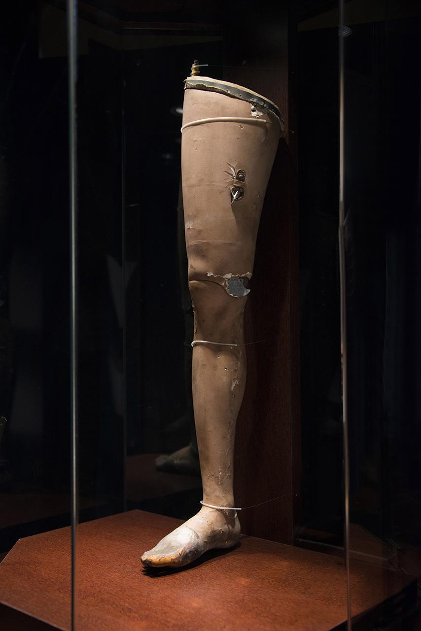 大隈重信が使用した義足